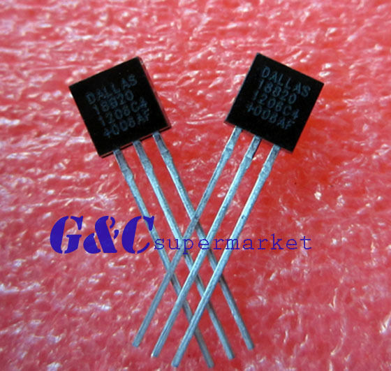 IC DS18B20 TO-92 DALLAS Thermometer Temperature Sensor NEW GOOD QUALITY