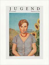 Titelseite der Nummer 20 von 1935 Christian Schad Im Garten Jugend 4962