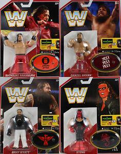 Paquete Completo De Wwe Mattel retro de los 4 serie 3 Mattel lucha libre figura de acción