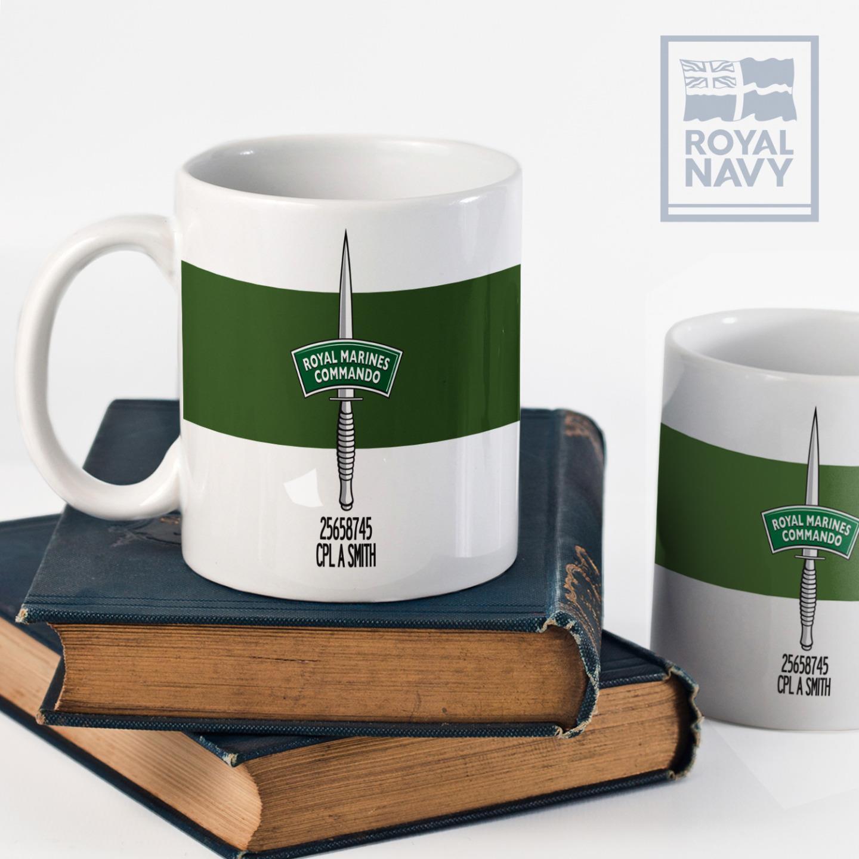 Marines Macho Mug 1-Liter Clear