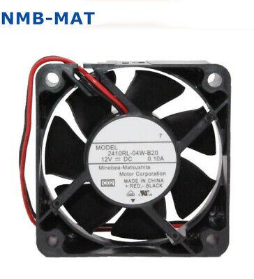 NMB 2410RL-04W-S29 Fan DC 12v 0.10A 3Pin 60*60*25mm