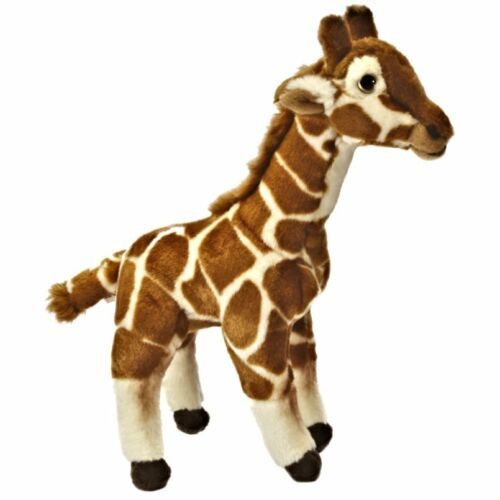 Suitable for any age 0+ Safari Animal Cuddly Toy 31cm Giraffe Soft Toy