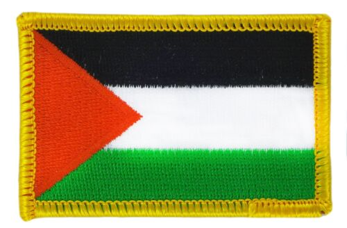 PALESTINE FLAG PATCH PATCHES BADGE IRON ON NEW EMBROIDERED