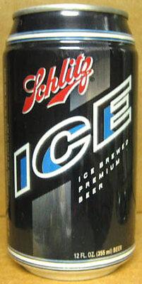 MICHIGAN Grade 1+ SCHLITZ ICE BEER aluminum CAN Jos Schlitz Brewing Detroit