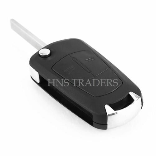 New For Vauxhall Opel Corsa Astra Vectra Zafira 2 Button Remote Flip Key A53