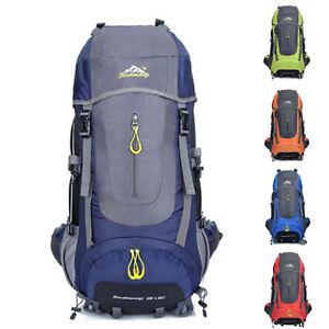 70L-exterieur-Randonnee-Sac-camping-voyage-impermeable-ALPINISME-backbag-cc
