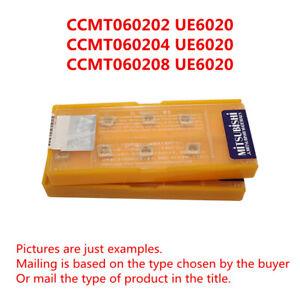 MITSUBISHI DCMT11T302 UE6020 DCMT32.50.5 UE6020 CNC Carbide inserts 10Pcs