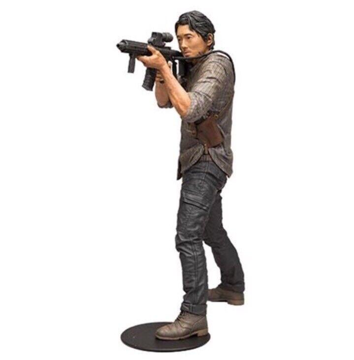 The Walking Dead TV Glenn 10  Deluxe Action Figure McFarlane Toys