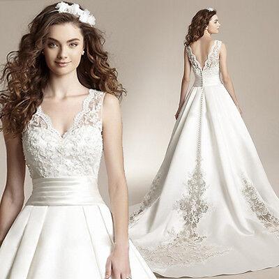 Lace Princess Wedding Dress 2016 Ball Gown White Wedding Dress Robe A-Line