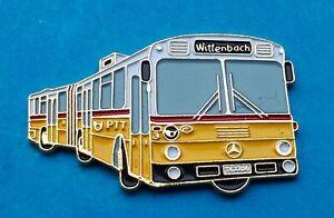 Emaillierter Mercedes-Benz Bus - Pin   Schweiz  , Wittenbach