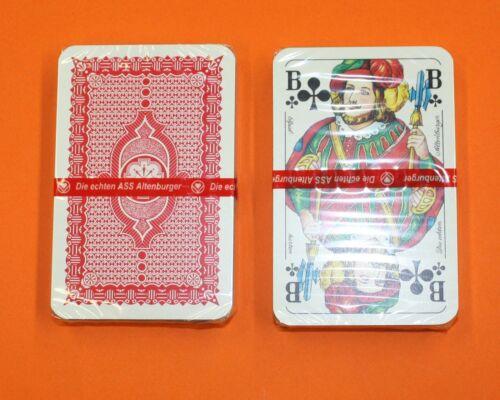 5x Skatkarten Skat  Altenburger Spielkarten Neu