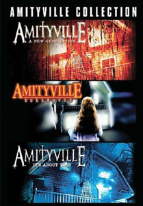 Amityville-Collection-Triple-Feature-DVD-2007-3-Disc-Set-RARE-OOP-HORROR