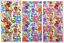 EM-2585-Pink-M Busy Floral Print Polycotton Dress Fabric