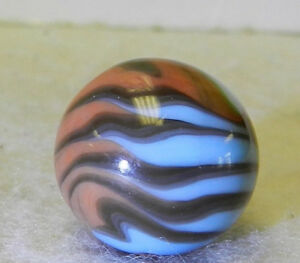 7583m-Vintage-Christensen-Agate-Company-Flame-Marble-62-Inches-Mint-As-Made