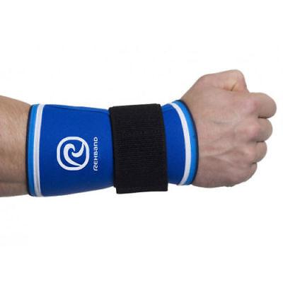Rehband 7080 Wrist Support - Blue Line 5mm Crossfit Weightlifting Powerlifting Belebende Durchblutung Und Schmerzen Stoppen