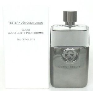 Gucci Guilty Pour Homme Eau De Toilette Spray For Men 30 Oz New