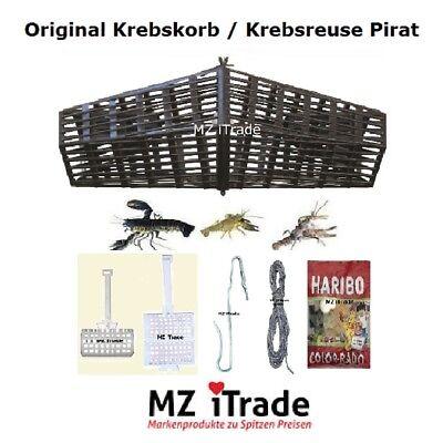 Krebskorb Krebsreuse Plattfischkorb fish cray trap Köder Korb haken Schnur Harib