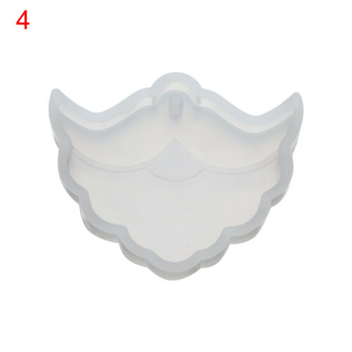 Christmas Gemstone Patch Silicone Mould for DIY Keychain Epoxy Resin Craft Mold