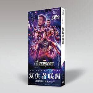 Marvel-Avengers-Superhero-Postcard-30pcs-Postcards-120pcs-Stickers-in-Box