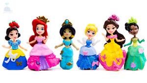 6pcs-Disney-Princess-Mini-Dolls-Resin-Character-Figures-Toy-Miniature-85mm-50mm