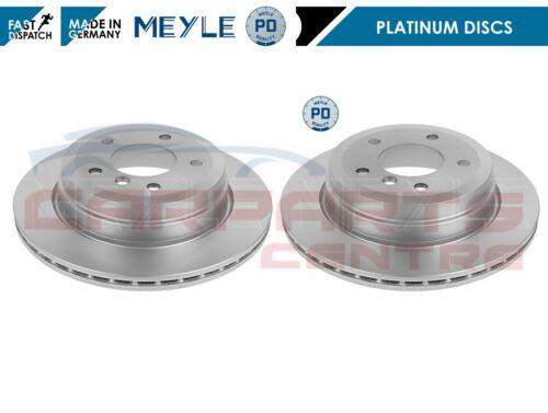 FOR BMW 1 3 X1 SERIES E81 E82 E88 E90 E91 E92 E84 REAR MEYLE BRAKE DISCS 300mm