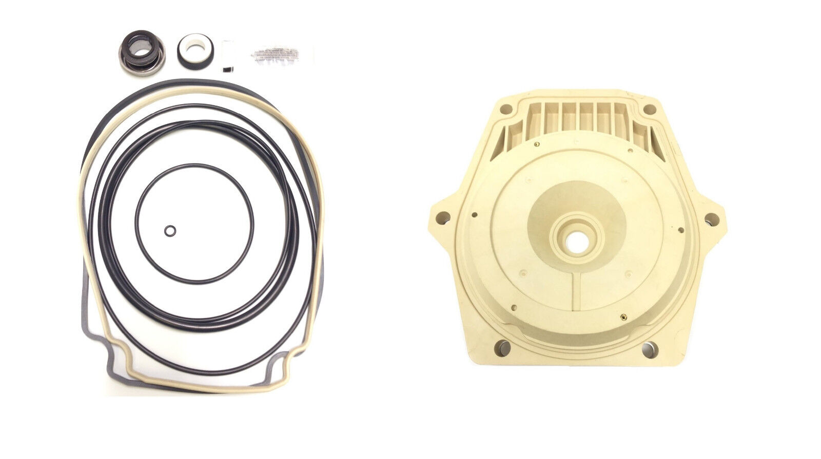 O-Ring Seal Kit 32 + Seal Plate 074564 For Pentair Whisperflo Intelliflo Pump