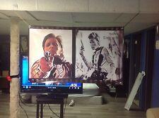 HUGE! 46x28. YOUNG GUNS Vinyl Banner POSTER Film movie art tombstone john wayne.
