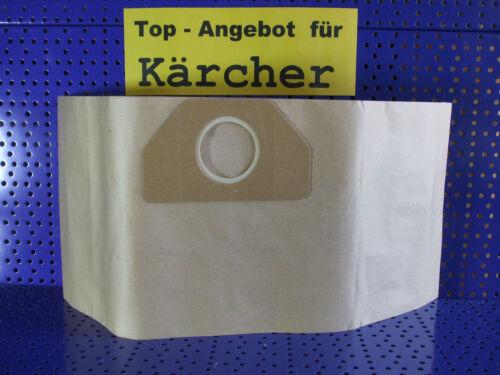 10 Filtertüten Ersatz für 6.959-130 Staubsaugerbeutel Kärcher