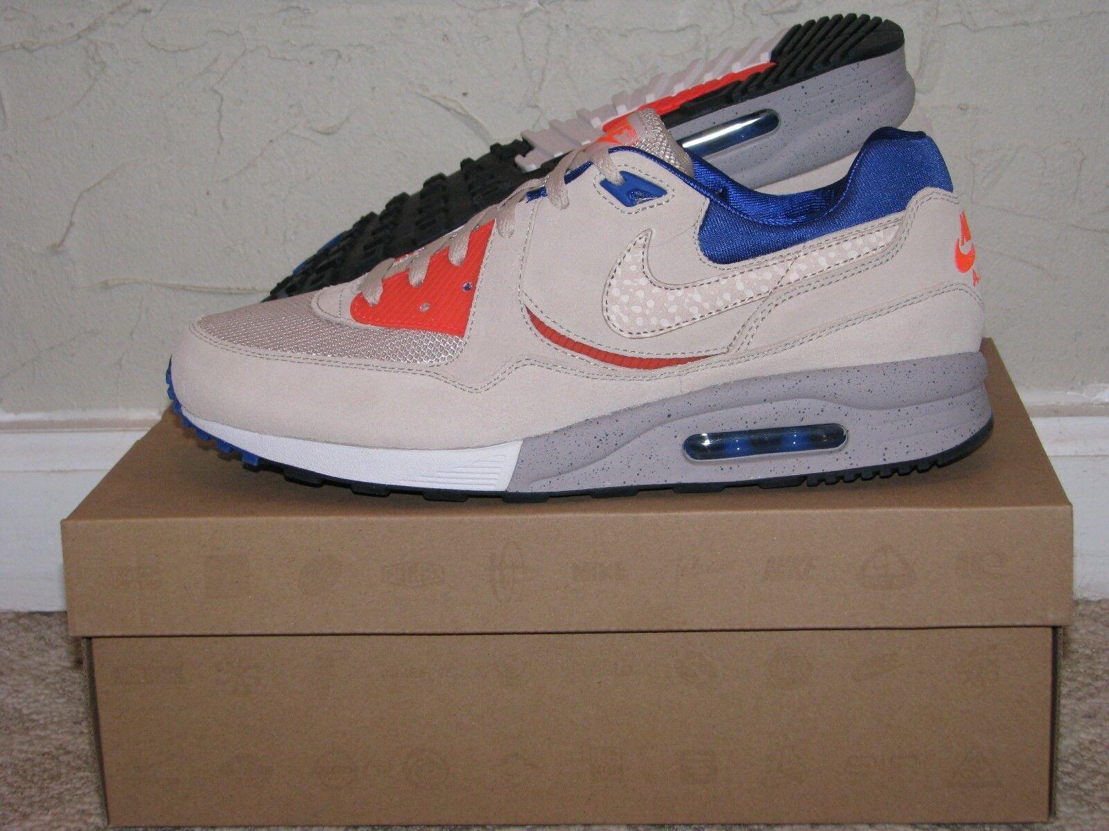 size  x Nike Air Max Light LE Urban Safari Desert Sand Mens Size 10 DS NEW