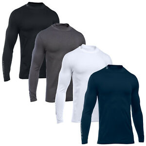 973e31d63a Details about Under Armour Mens Golf Coldgear Mock Top - New UA Baselayer  Thermal Turtle Neck