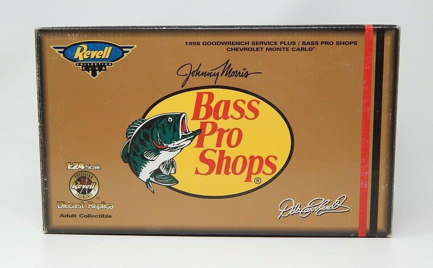 Diecast Dale Earnhardt Sr NASCAR 1 24 Bass Pro Shops car Revell