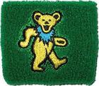 GRATEFUL DEAD Yellow Bear Logo Wristband Sweatband Rock NEW OFFICIAL MERCHANDISE