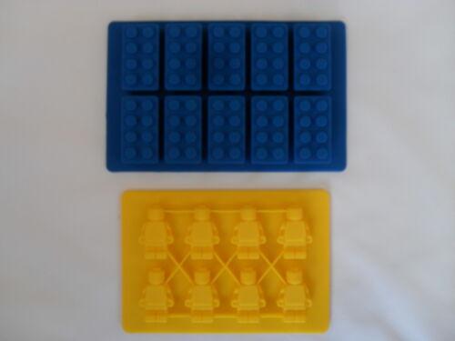 Lego Form Stil Eiswürfelbehälter Silikon Form Bauen Spaß Lego Eis Ziegel Party