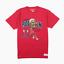 thumbnail 1 - Mitchell & Ness Mens Chicago Bulls Dennis Rodman NBA Basketball T-Shirt M Tee BN
