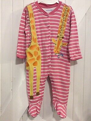 ex UK Chainstore Brand Christmas Elf Applique Sleepsuit RRP £20 0-9 Months