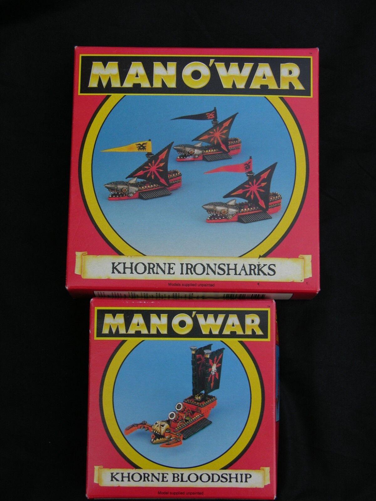 Spiel Workshop Mann O Krieg, Khorne Flotte Multi-Listing