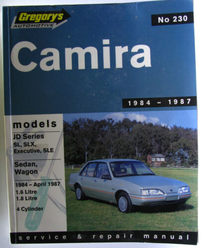 1 of 1 - #JK38,  CAMIRA JD SERIES 1984-1987, SERVICE & REPAIR MANUAL, SC AC