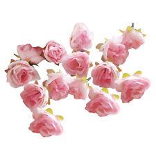 50 Stk. 3cm künstliche Seide Rosen Köpfe Hochzeit Blumendekoration HOT Mode