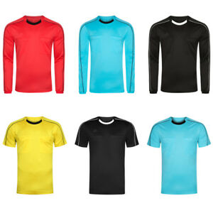 adidas-Referee-Herren-Schiedsrichter-Kurzarm-Langarm-Trikot-Sport-Jersey-Ref-neu