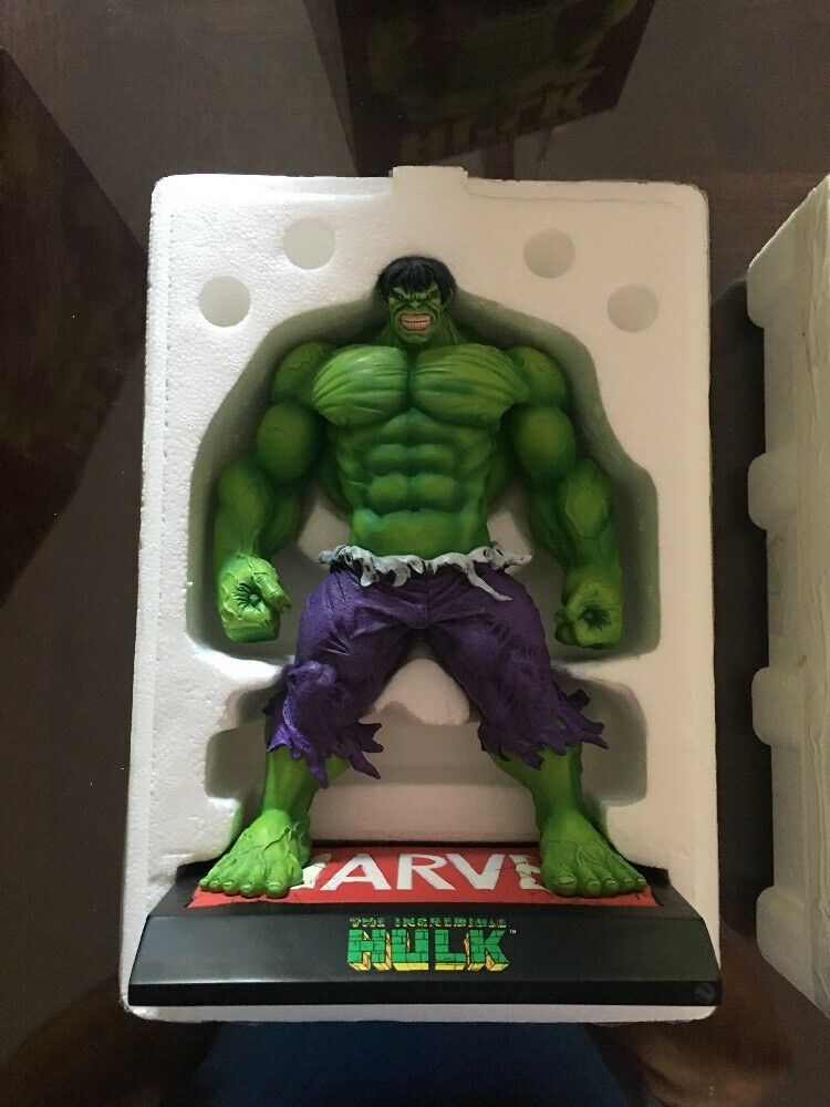 MARVEL  THE INCrotIBLE HULK MAQUETTE  Over 9  STATUE  AVENGERS Figure TOY