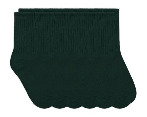 Jefferies Socks Boys School Uniform Cotton Ribbed Dress Crew Socks 6 Pair Pack