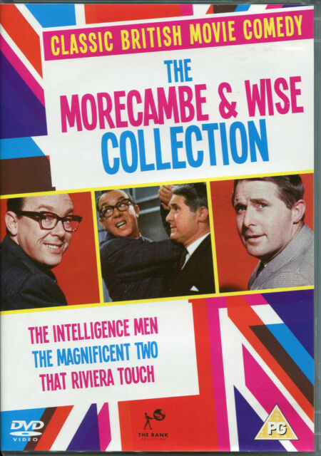 THE MORECAMBE & WISE COLLECTION - 3 DVD BOX SET CLASSIC BRITISH COMEDY