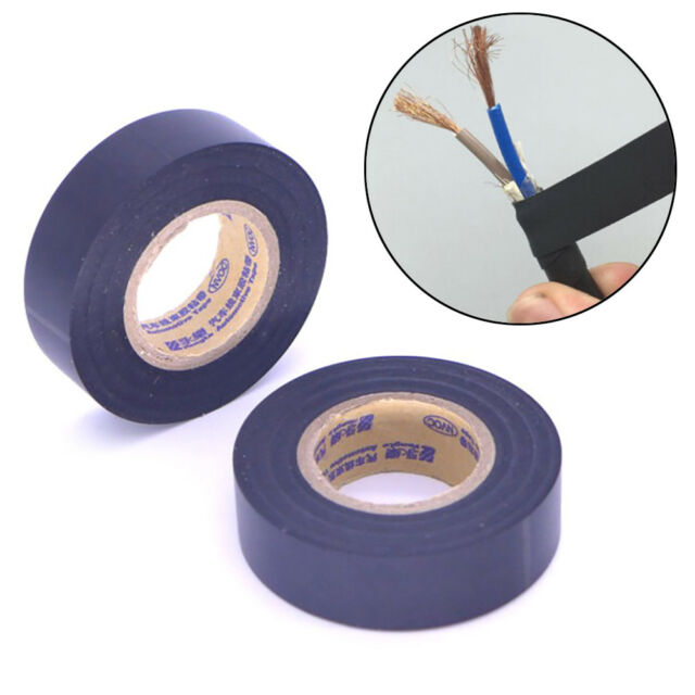 Electrical 18mm x12Y 11M PVC Insulation//Insulating Tape Flame Retardant Waterp