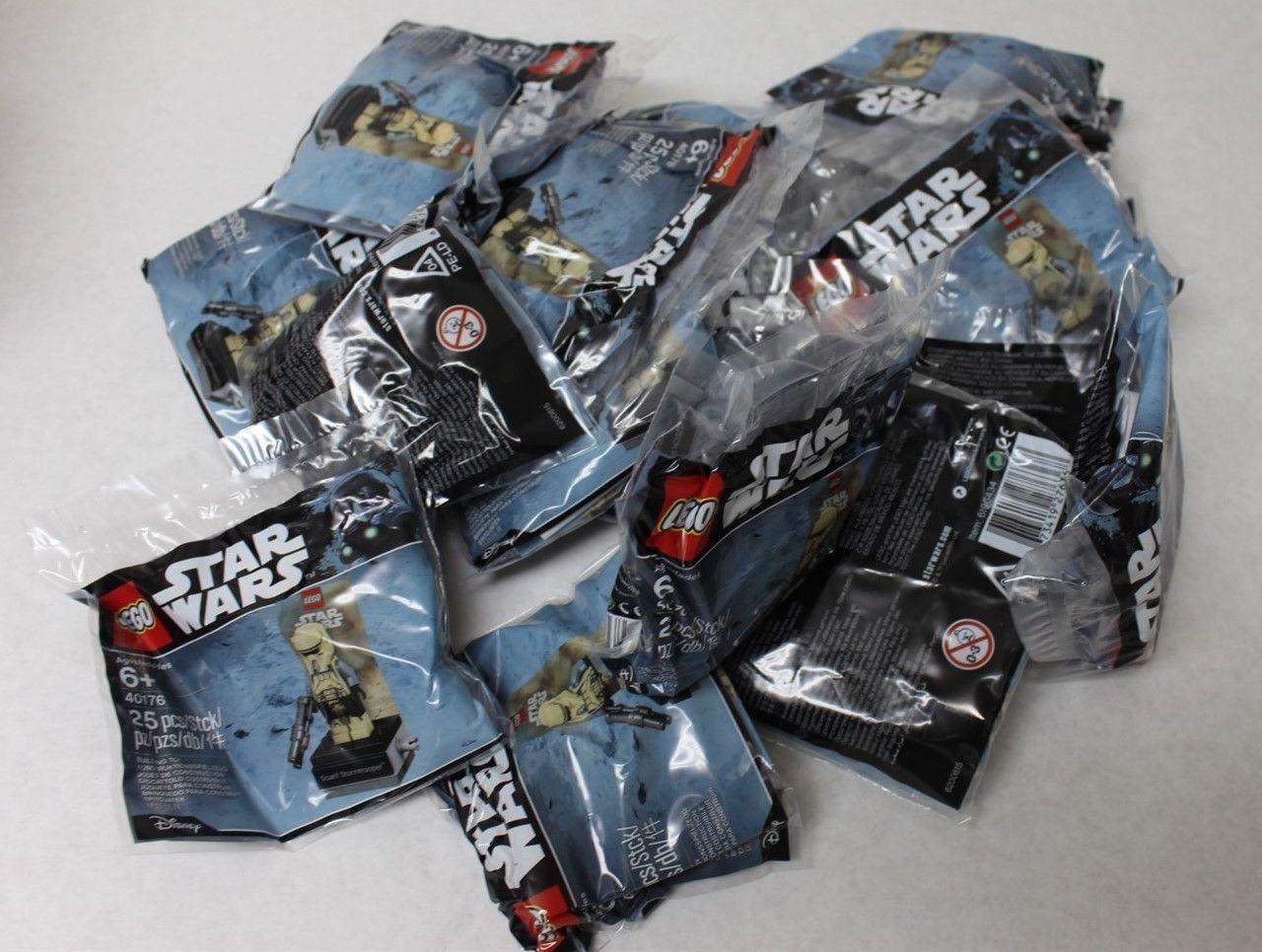 LOT of 10  - LEGO 40176 estrella guerras Sautoif Stormtrooper Minicifra Polyborsa - nuovo  sport caldi