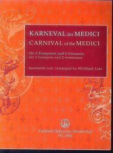 Willibald-Lutz-Karneval-der-Medici-fuer-2-Trompeten-und-2-Posaunen