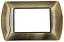 miniatura 52 - Placche Compatibili METALLO Bticino LIVING International 3 4 7 posti vari colori