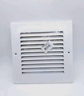 "TRUaire 170 18x06 HVAC Stamped Steel Return Air Vent Grille Grill 18/""x 6/"" White"
