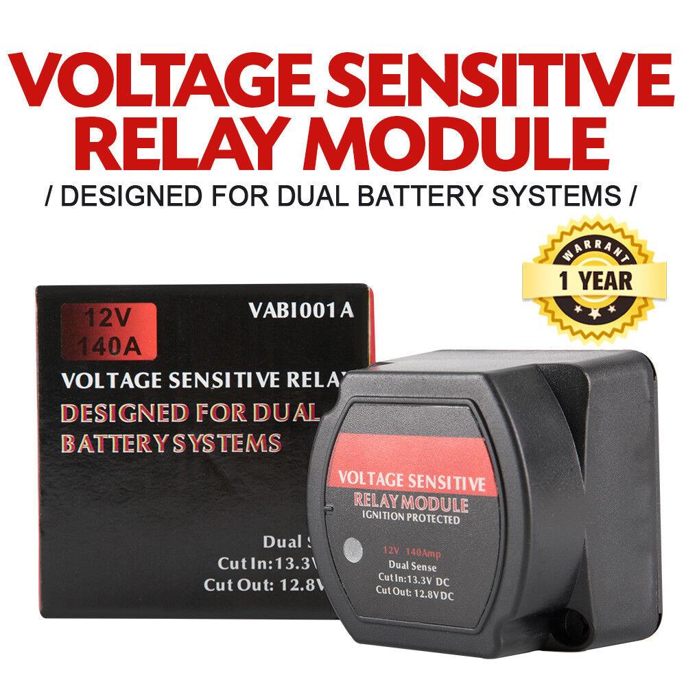 narva 61092 voltage sensitive relay 12v vsr isolator 140a dual