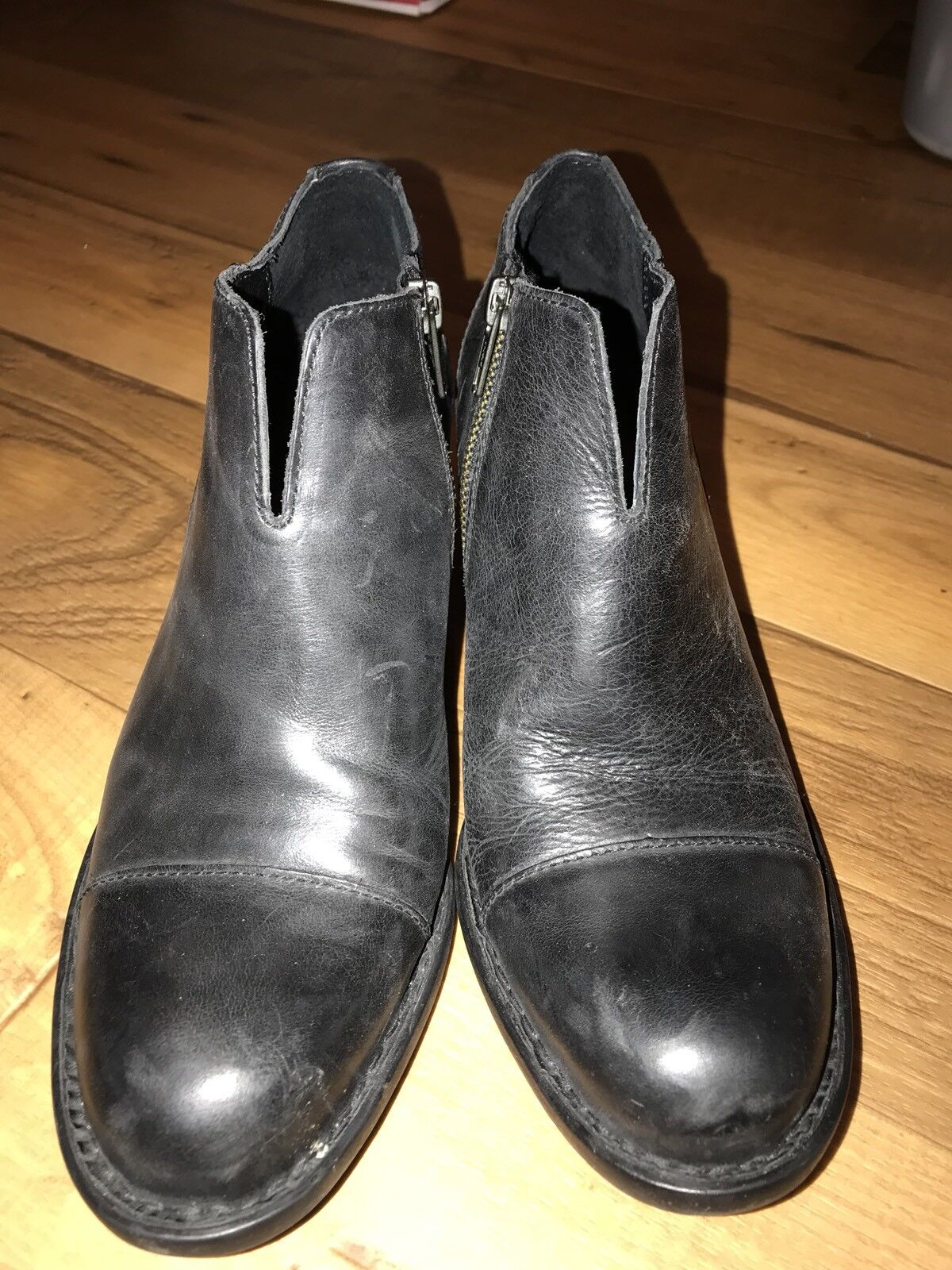 Born Granny Ankle Ankle Ankle Boots Size 8.5 27ced2