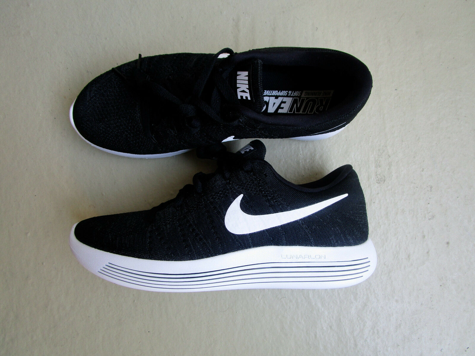Nike Air Lunarepic Low Flyknit 42noir /blanc-Anthracite